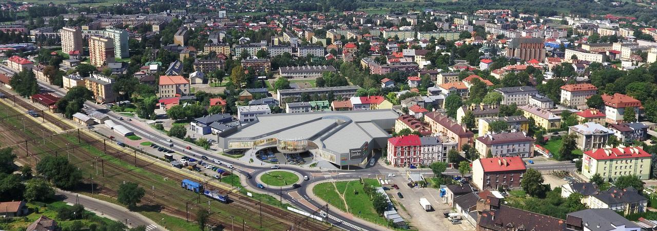 Jasło - Galeria przy dworcu PKS