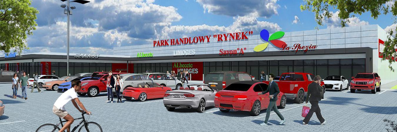 Zawiercie - Park Handlowy Rynek